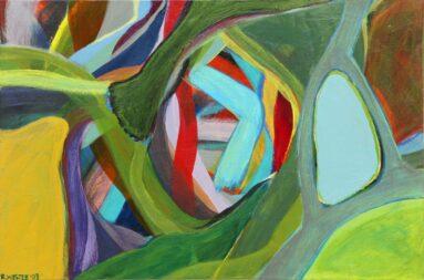 Afbeelding 3: Weerspiegelend mini landschap - 2003